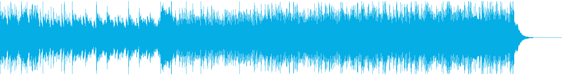 Cool game music's reproduced waveform