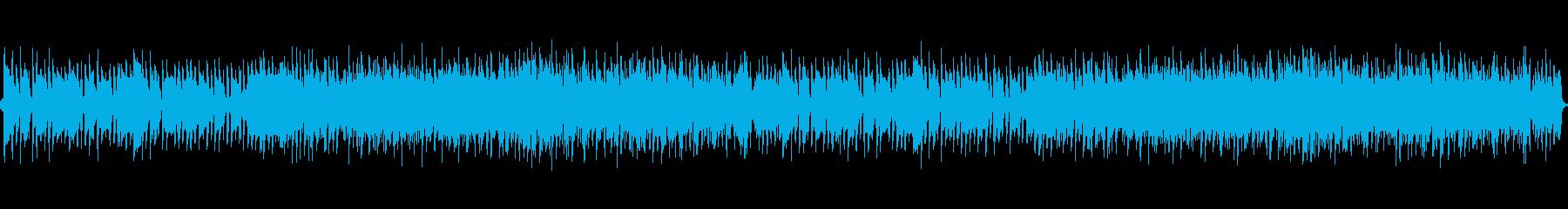 軽快でおしゃれなボサノバBGMの再生済みの波形
