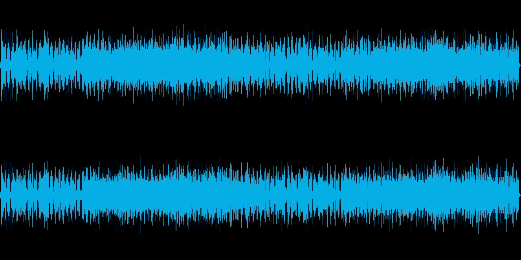 ブラジル風軽快でおしゃれボサノバBGMの再生済みの波形