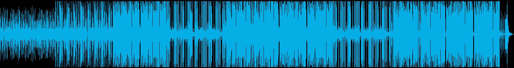 ブラスが入ったチル系シティポップの再生済みの波形