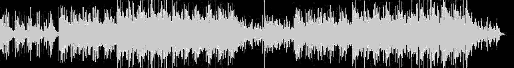 クールなコーポレート系BGMの未再生の波形