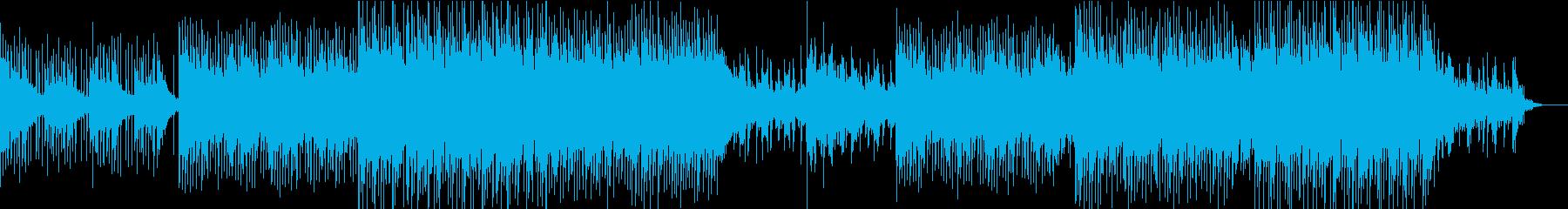クールなコーポレート系BGMの再生済みの波形