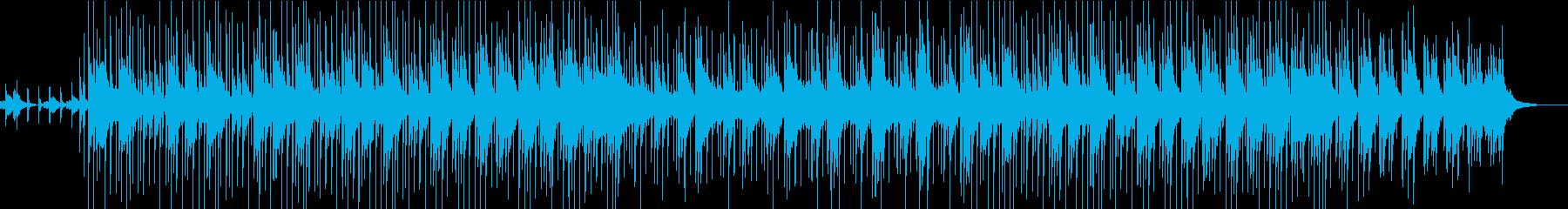 ビブラフォン、アコースティックベー...の再生済みの波形