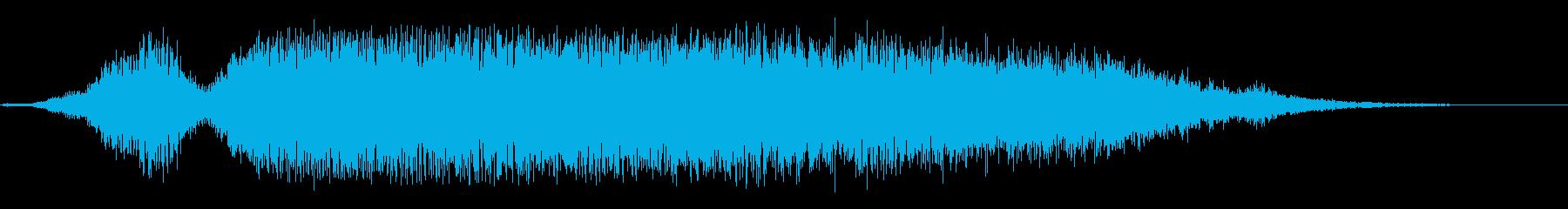 驚きの再生済みの波形