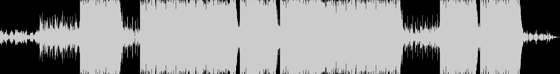 逆再生が幻想的なヒップホップの未再生の波形