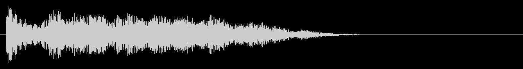 強化されたプラクテッドシンセアクセント5の未再生の波形