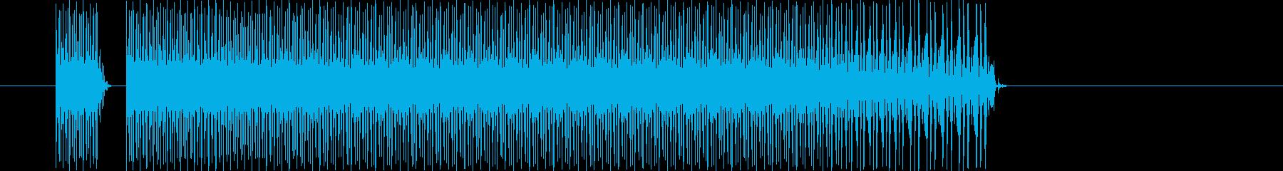 残念/失敗/負け/不正解~!な電子音①の再生済みの波形