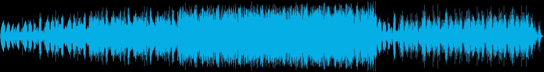 幻想的な朝の目覚めヒーリングニカの再生済みの波形