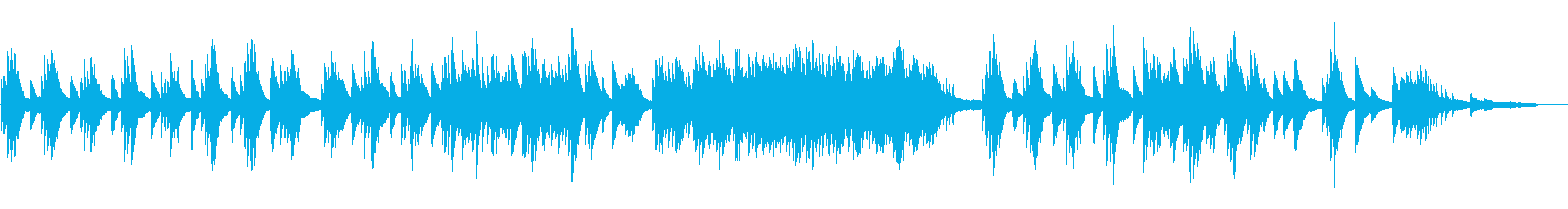 StockMusic32_PianoSamplerの再生済みの波形