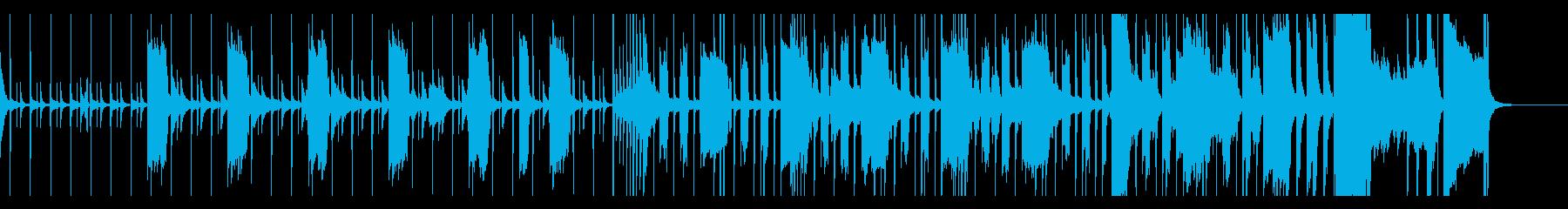 緊張感のあるセクシーなBGMの再生済みの波形