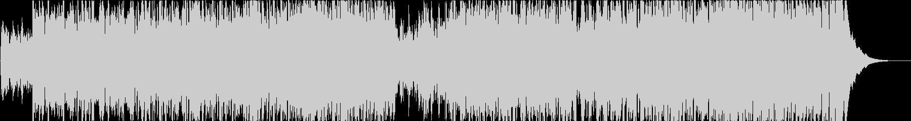 フィドルとホイッスルのアイリッシュ音楽の未再生の波形