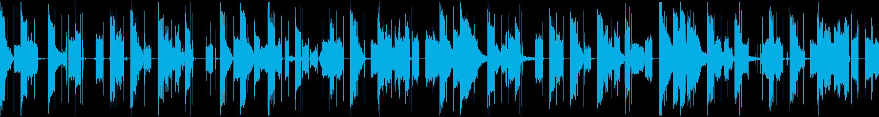 子供の声が入ったエレクトロニカループの再生済みの波形