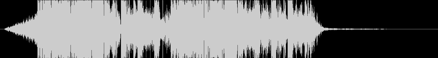 DUBSTEP クール ジングル170の未再生の波形