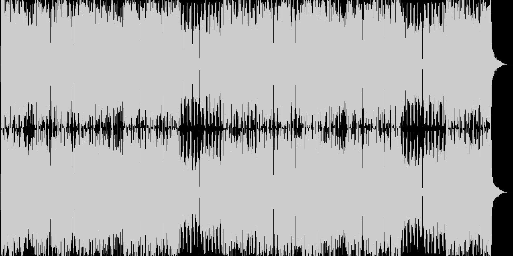 とにかく激しいエレクトロなDUBSTEPの未再生の波形