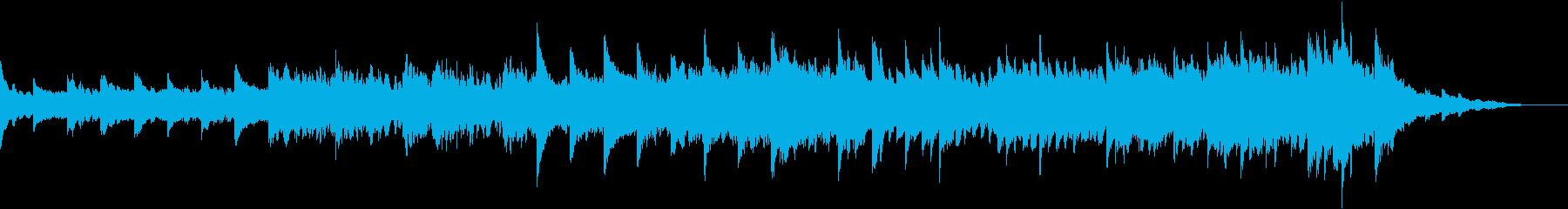 柔らかいシンセが心地良いヒーリング音楽の再生済みの波形