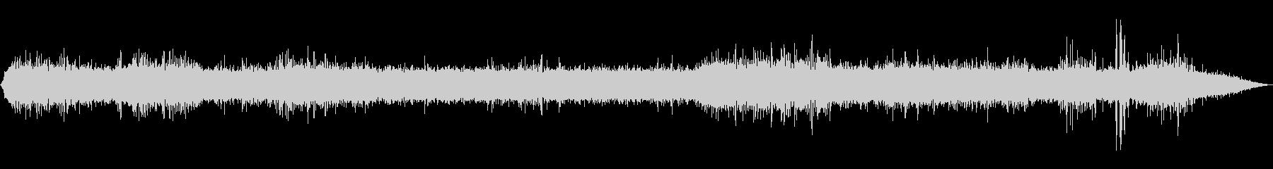【自然音】川の流れる音02(軽井沢)の未再生の波形