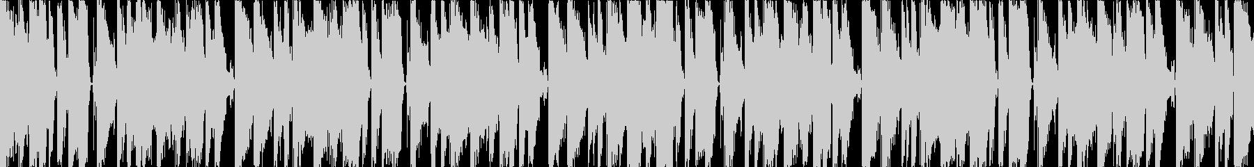 グルーヴィーでキャッチーなデジタルポップの未再生の波形