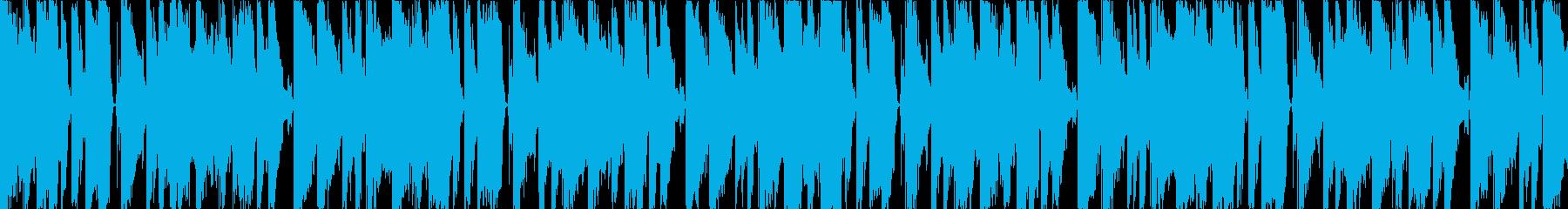 グルーヴィーでキャッチーなデジタルポップの再生済みの波形