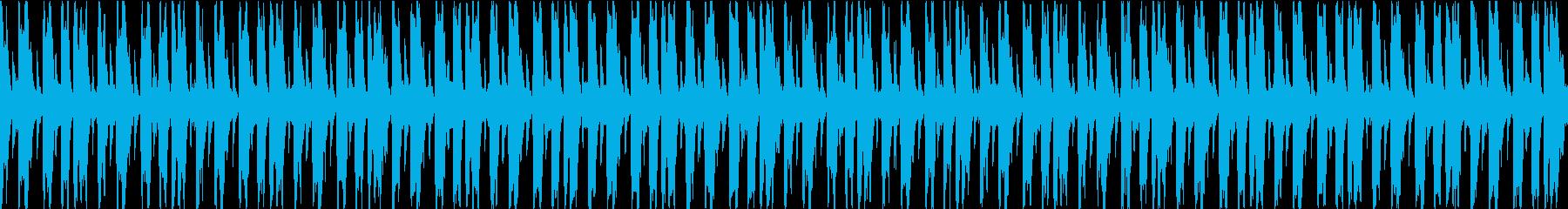 エネルギッシュでファンキーで忙しい...の再生済みの波形
