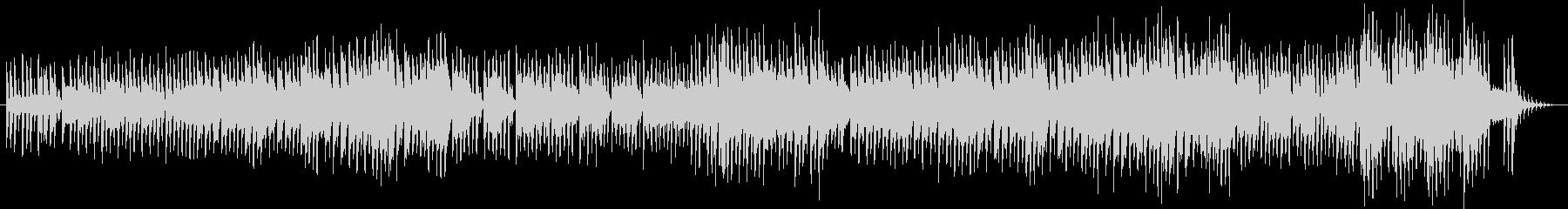 リズミカルで楽しいクリスマスBGMの未再生の波形