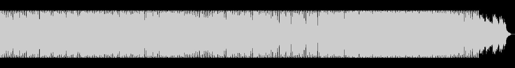 壮大なメロディのロックテイストインストの未再生の波形