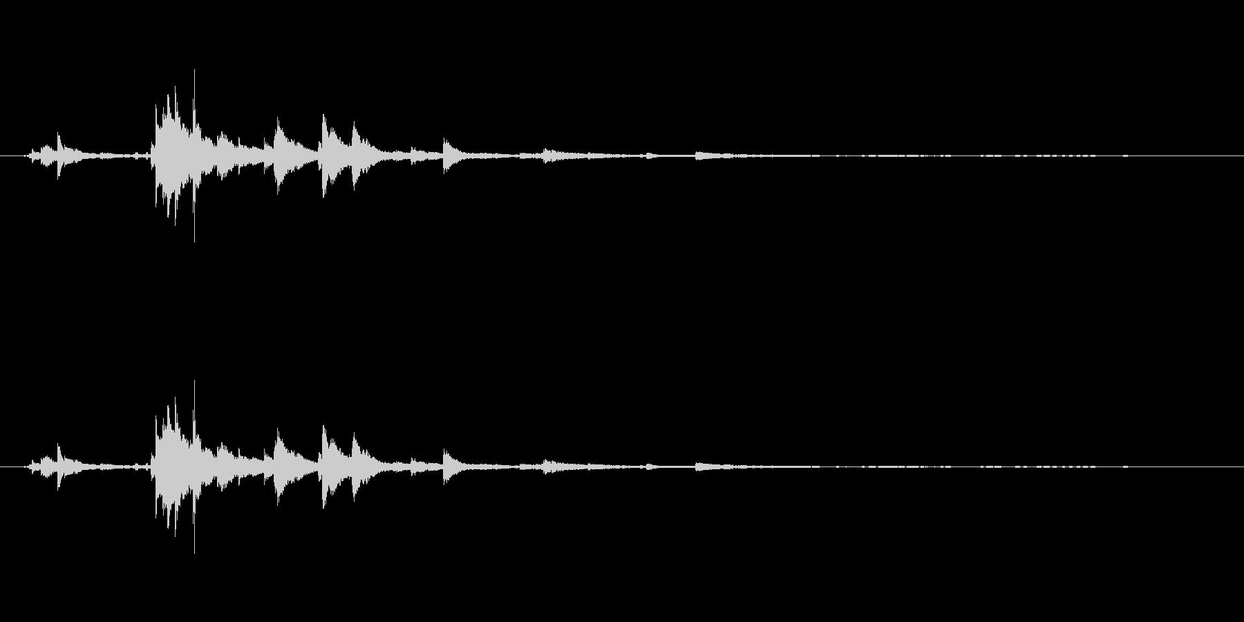 メタル ウィンドベルリンギング05の未再生の波形