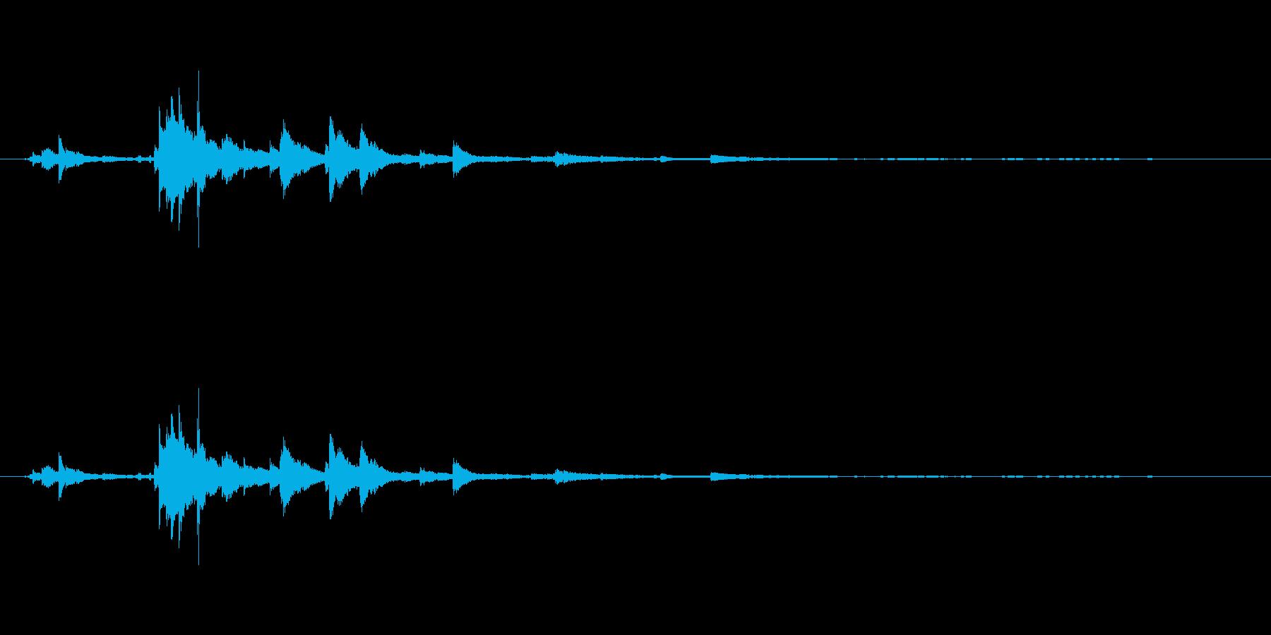 メタル ウィンドベルリンギング05の再生済みの波形