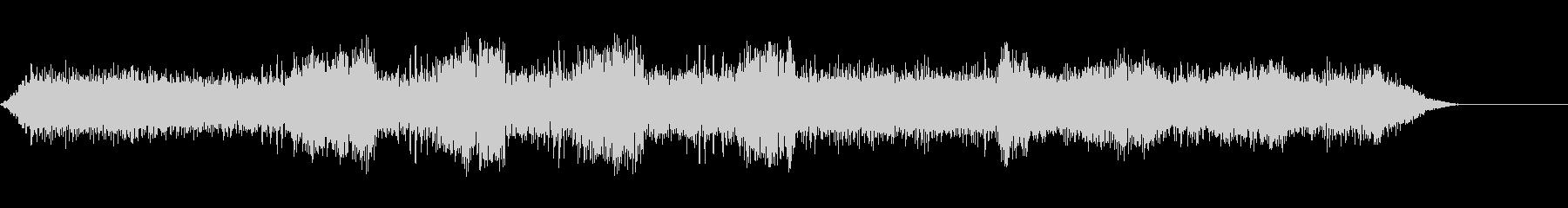 セミクリケット-昆虫-クロの未再生の波形
