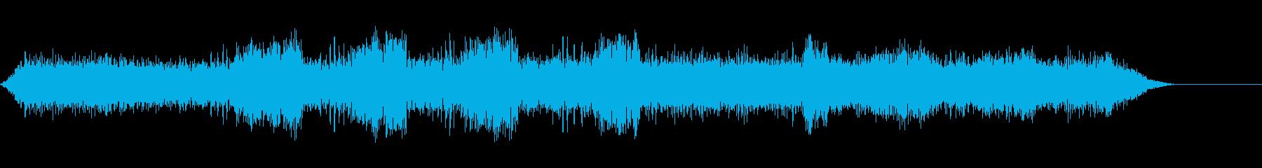 セミクリケット-昆虫-クロの再生済みの波形