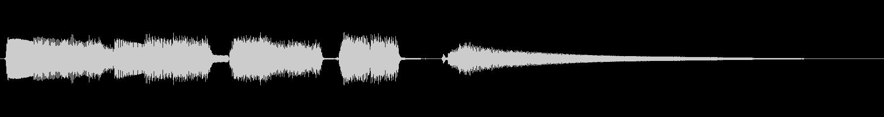 場面転換に!おしゃれなギターアルぺジオの未再生の波形