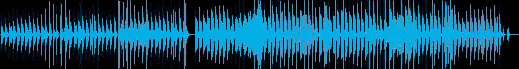子供、ほのぼの、明るくがテーマの曲の再生済みの波形