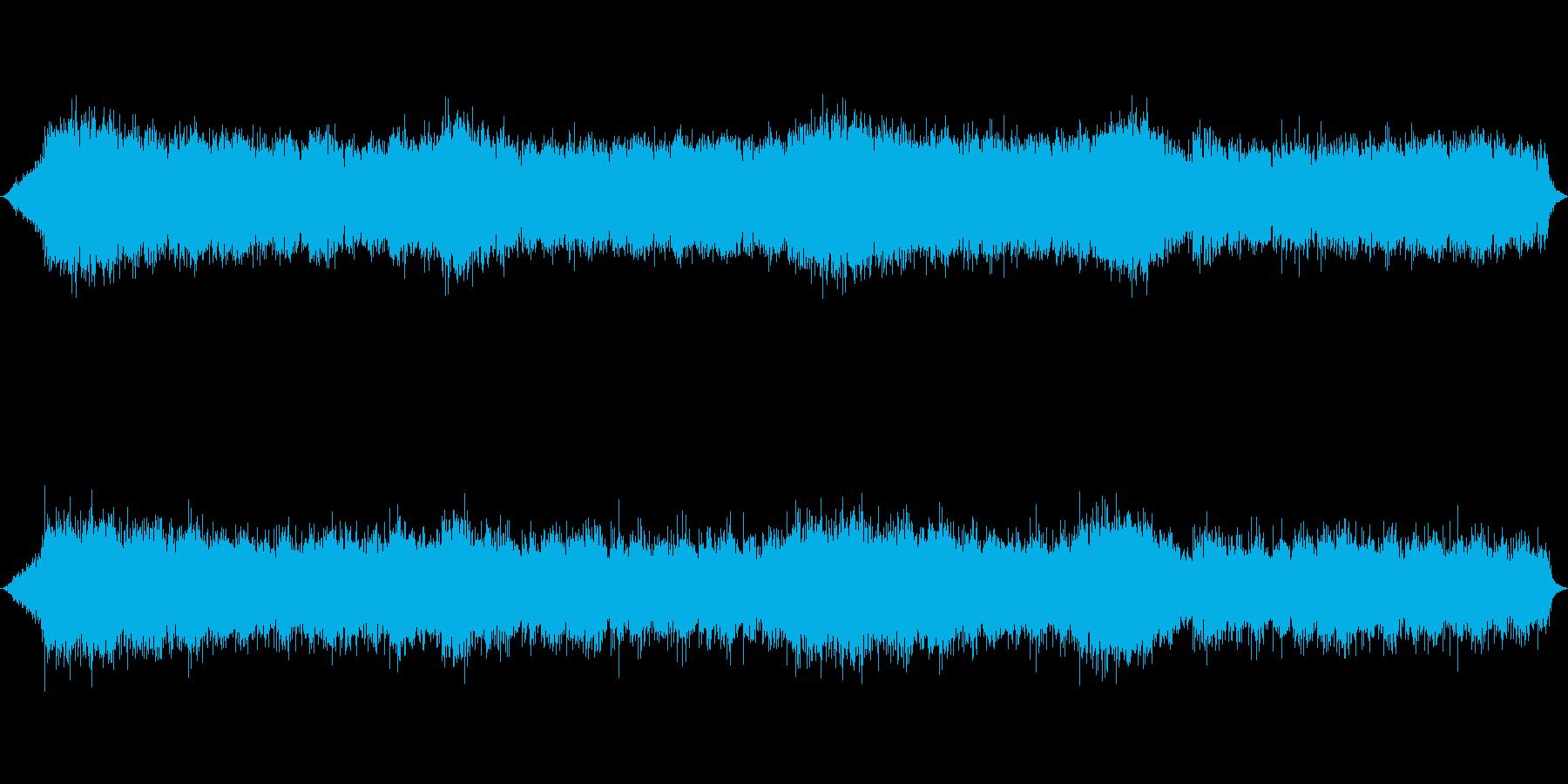 息が詰まる様な恐ろしいホラーの洋風楽曲の再生済みの波形