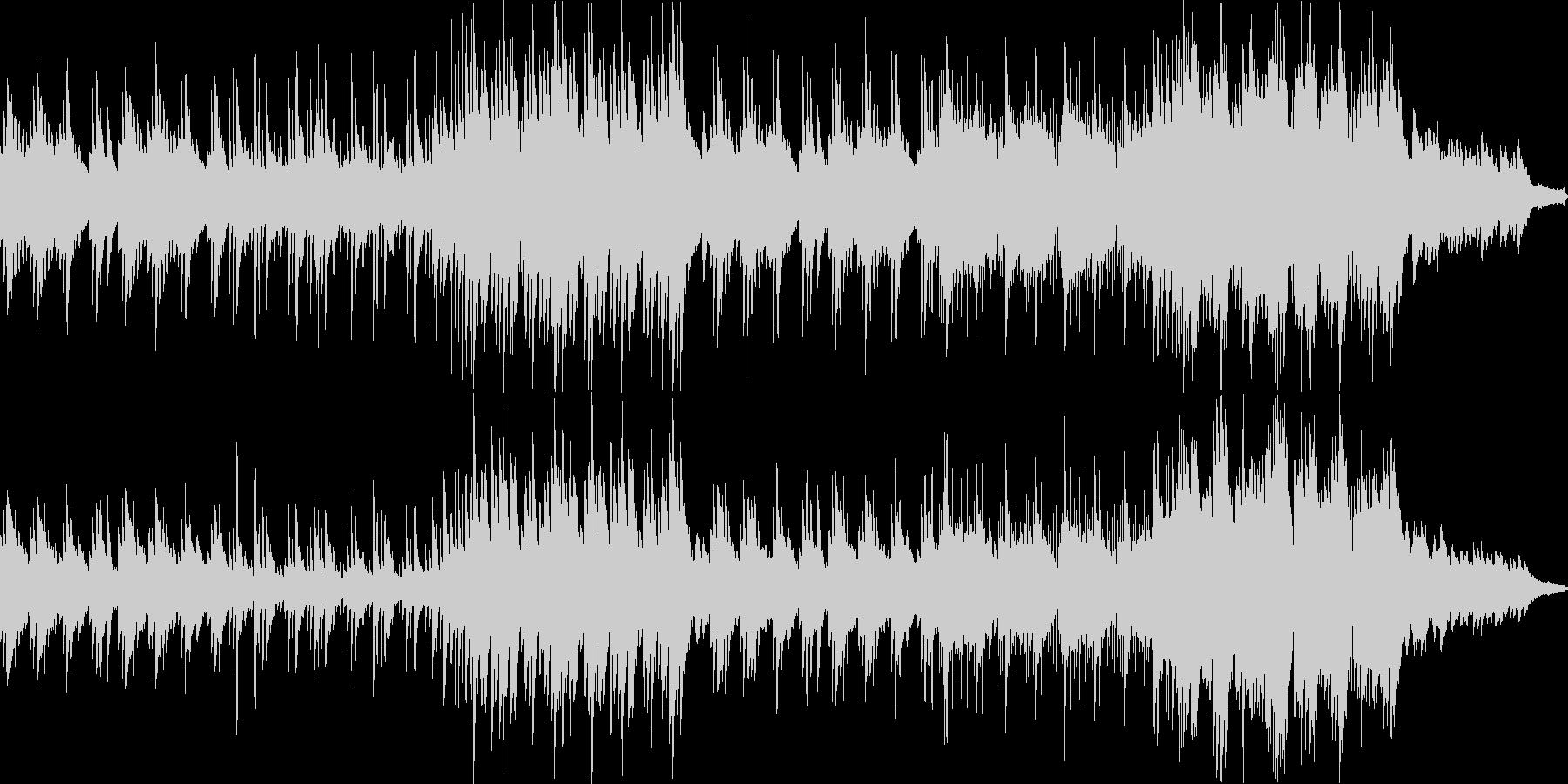 日常系 和風系ほのぼの曲の未再生の波形