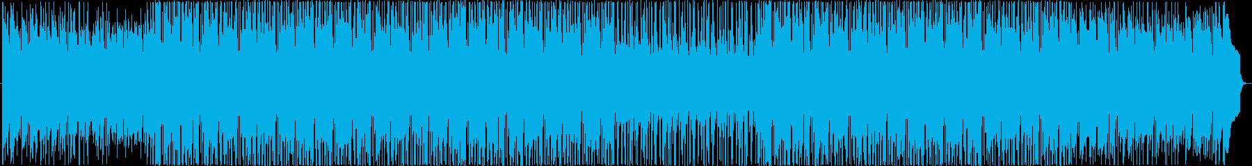 明るく弾むようなピアノが印象的はBGMの再生済みの波形