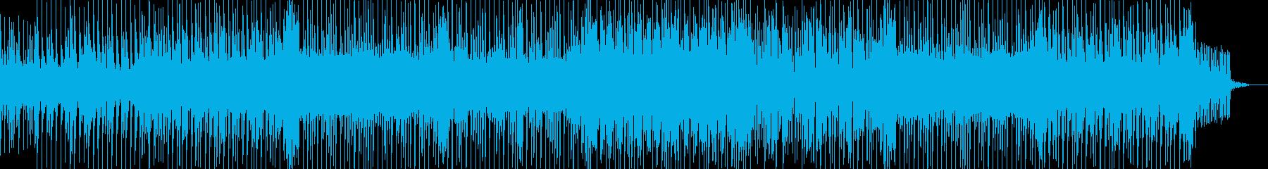 疾走感あふれるウキウキするようなBGMの再生済みの波形