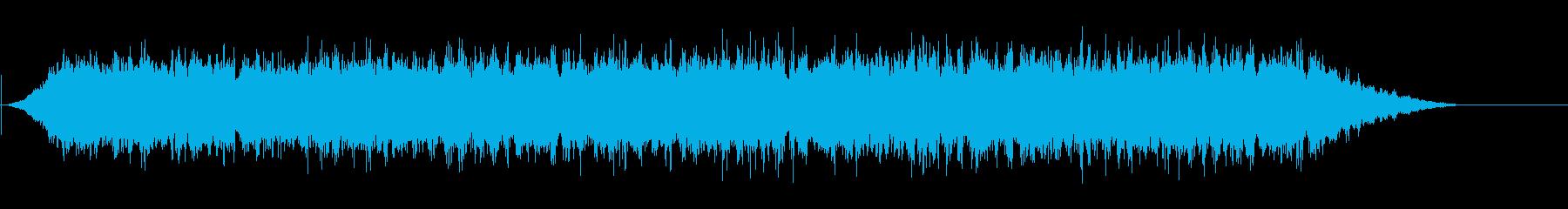 カレホンの雨の再生済みの波形