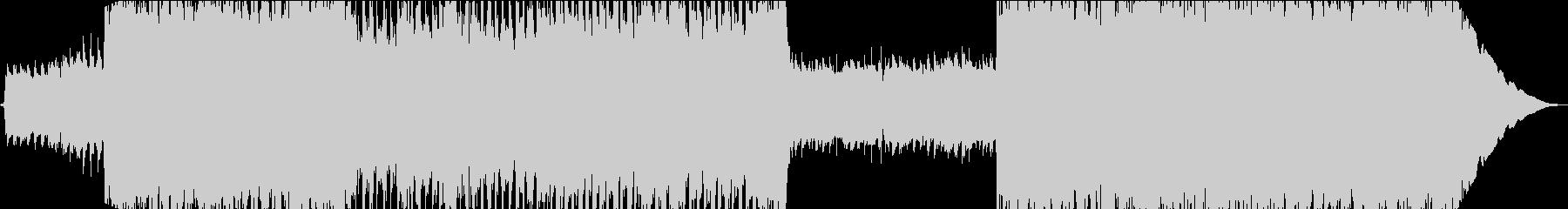 インスピレーションあふれるインディーロッの未再生の波形