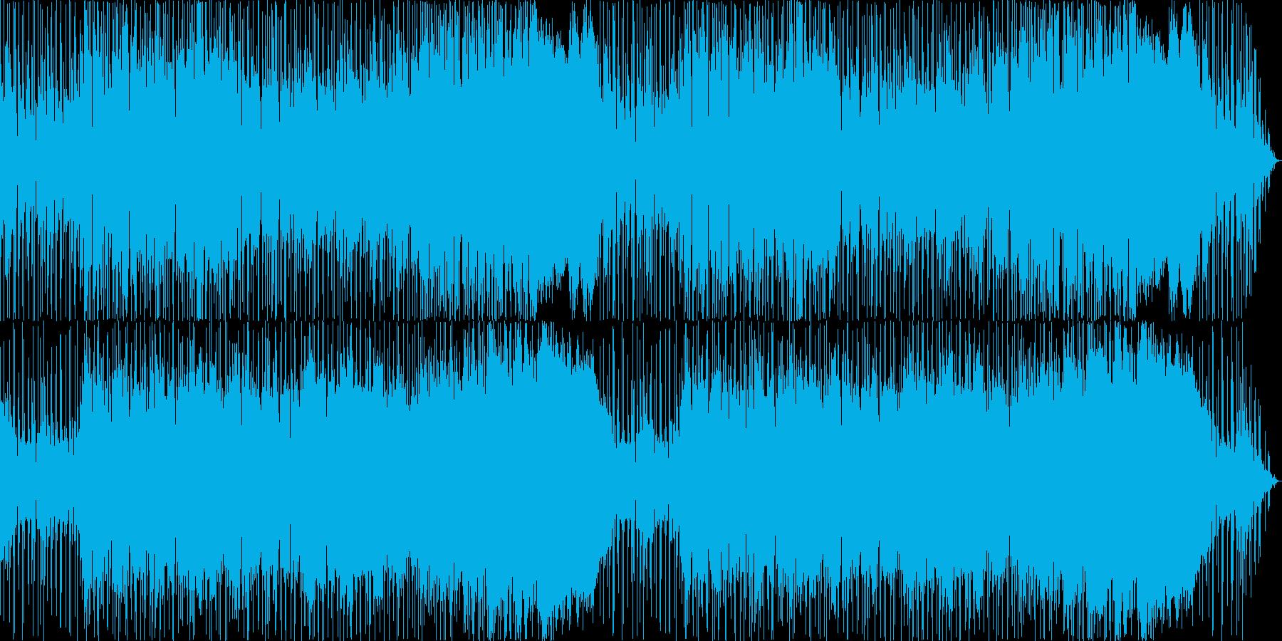 疾走感のある曲カーチェイス、レース等にの再生済みの波形