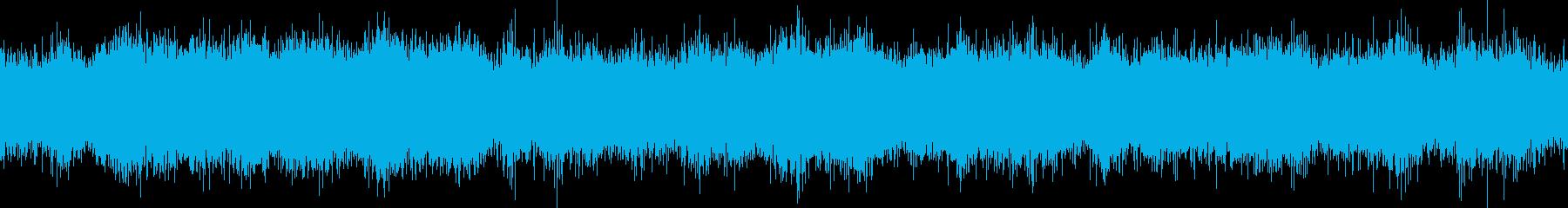 ループ再生可能!ラジオノイズ・ザーの再生済みの波形