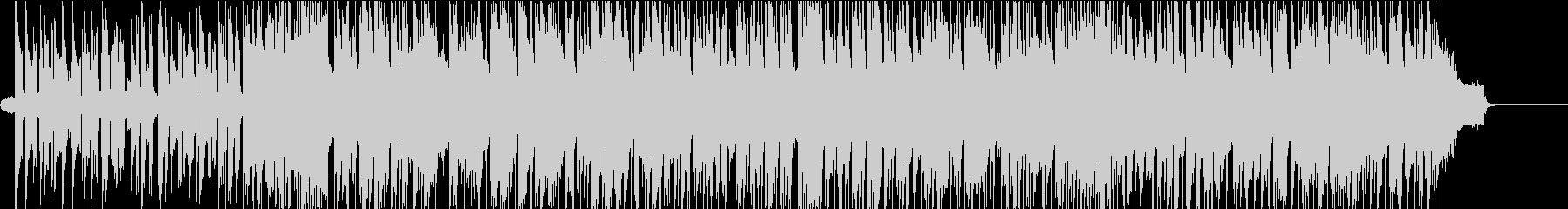 ピアノのアドリブがおしゃれなバンド曲の未再生の波形