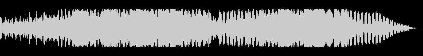 クールで冷たいエレクトロニカの未再生の波形