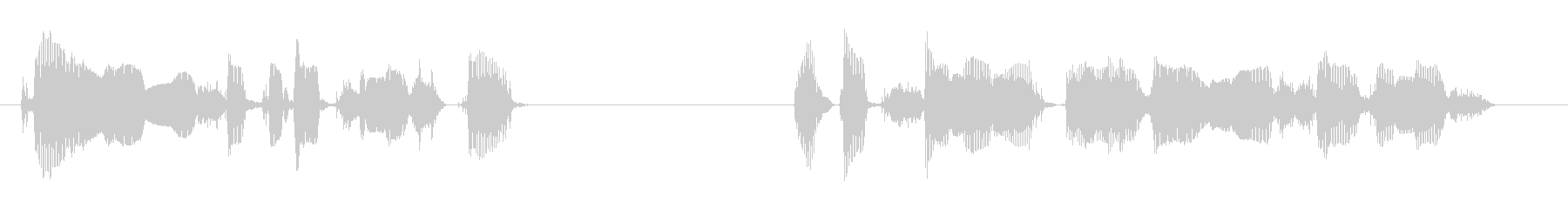 To customers prior to the start ~'s unreproduced waveform