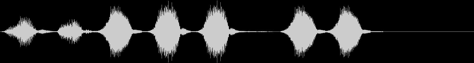 ハーモニカ:ショートミュージックア...の未再生の波形