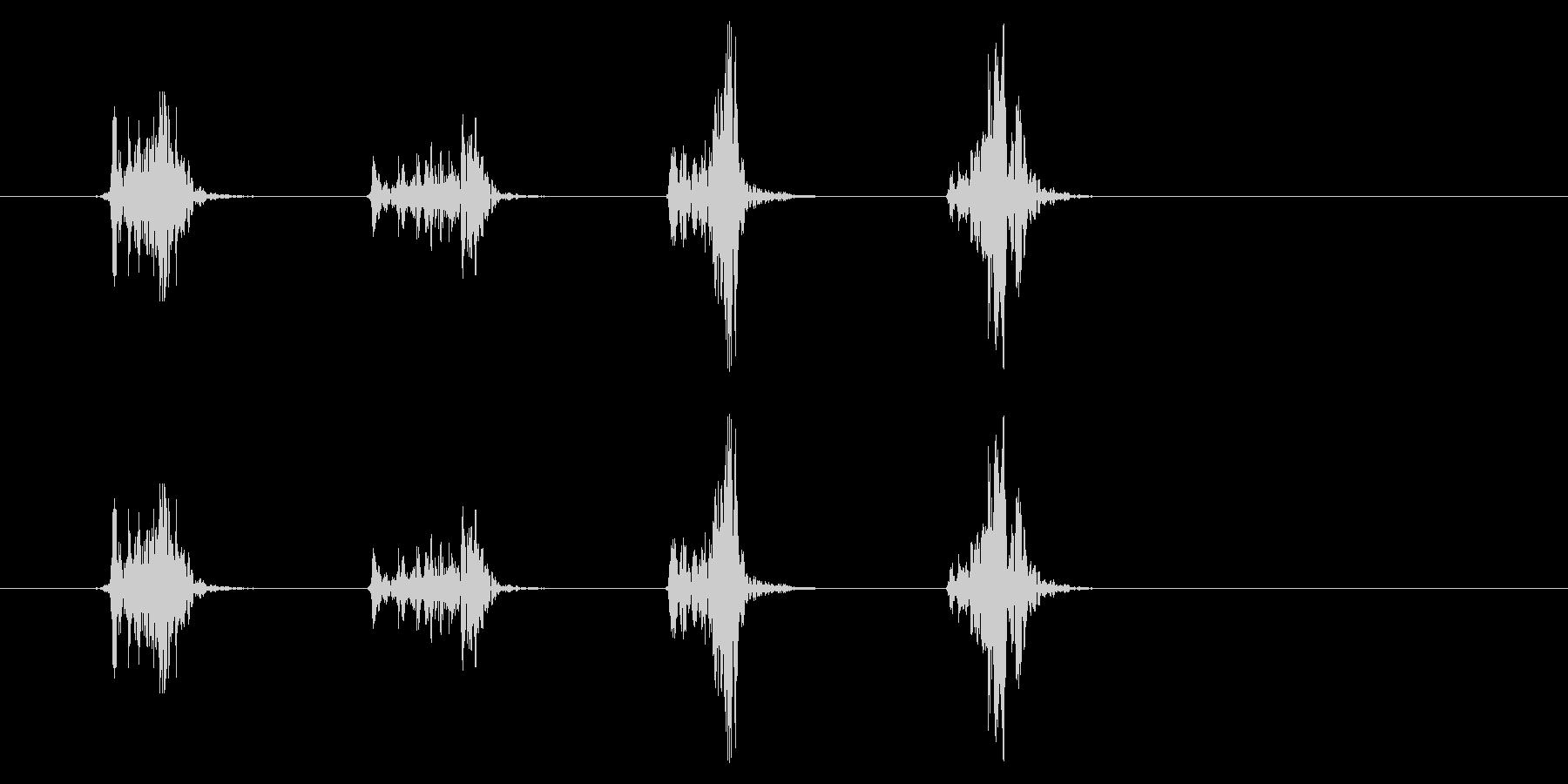 PC マウス03-19(スクロール 速)の未再生の波形