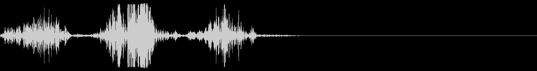 ロットワイラー犬の悪質な樹皮x3の未再生の波形