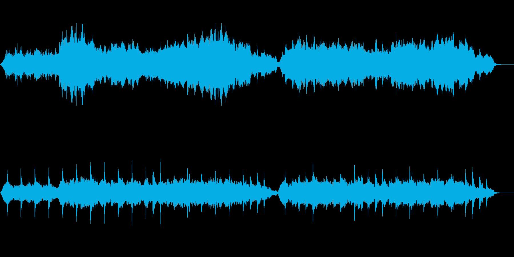 メジャー系のなぐさめのメロディ~弦楽奏~の再生済みの波形