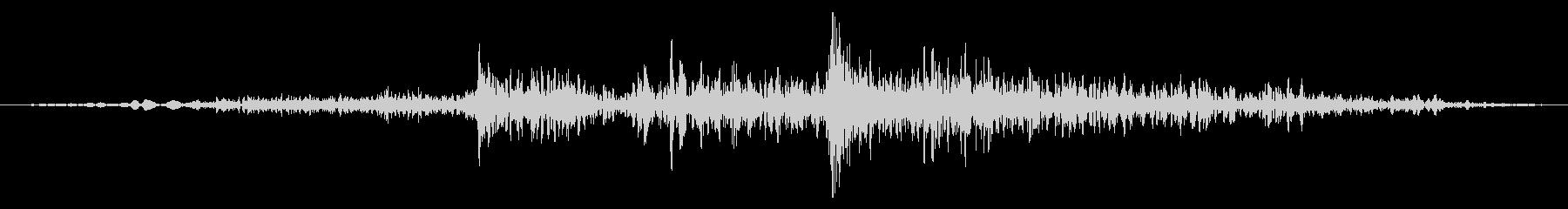 ふすまを開ける音3の未再生の波形