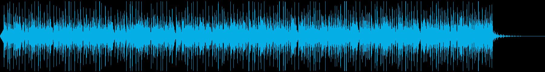 ダンディーな口笛ダンス ハウス調CM動画の再生済みの波形