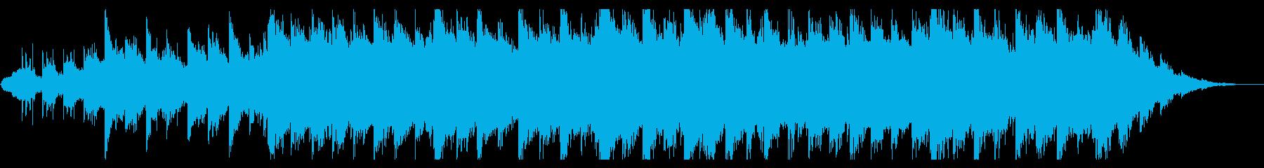 篠笛の生演奏 壮大でキラキラ和風BGMの再生済みの波形