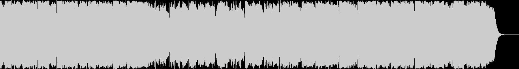 ゆったりとした日本風BGM_2の未再生の波形